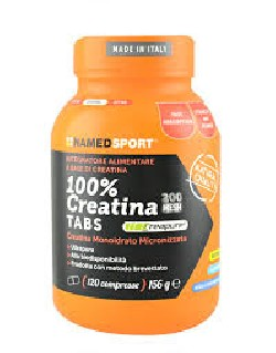 100% CREATINE  - 120 tablets - Integratori - Integratori e coadiuvanti - named